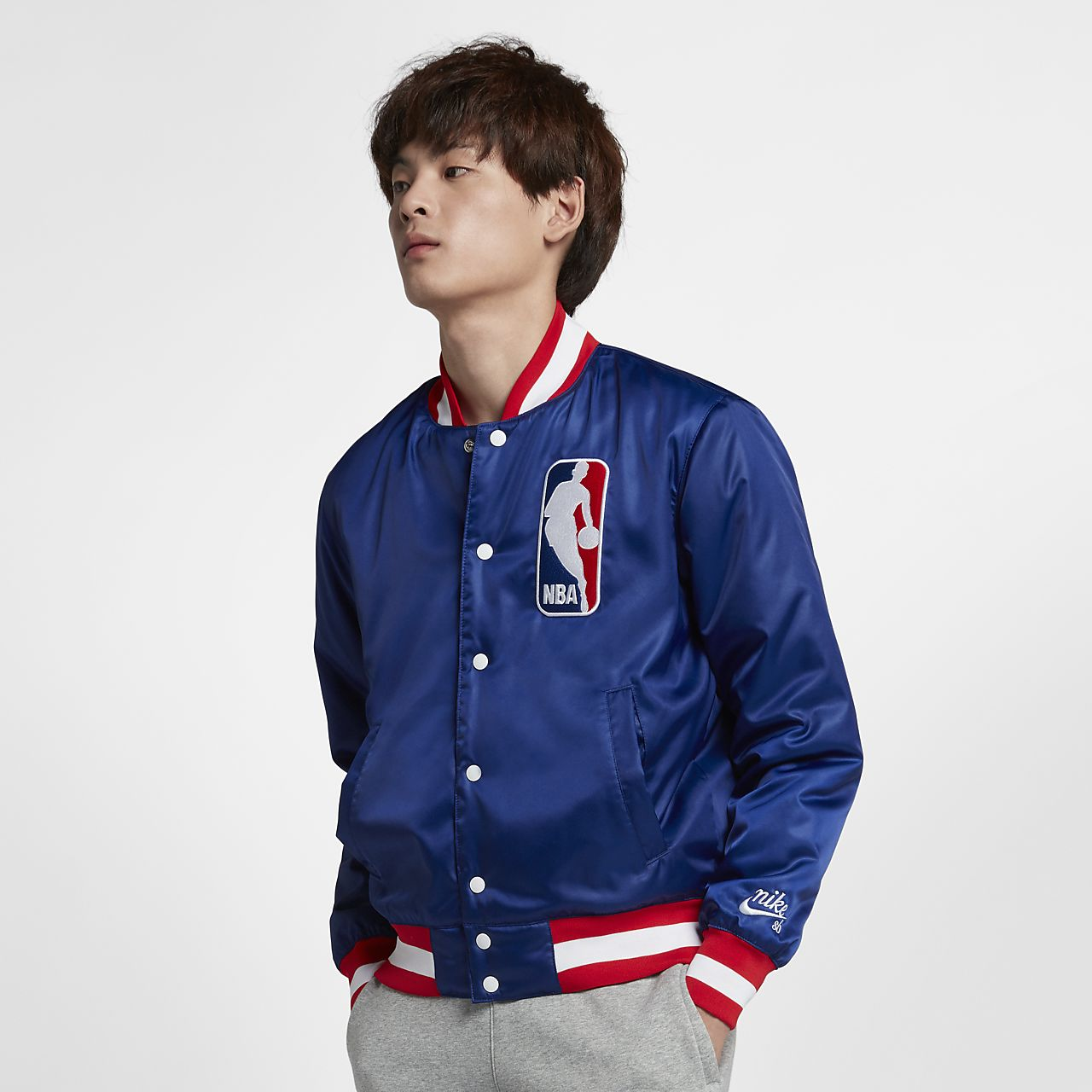 innovative design 62dac 3be64 ... Nike SB x NBA Men s Bomber Jacket
