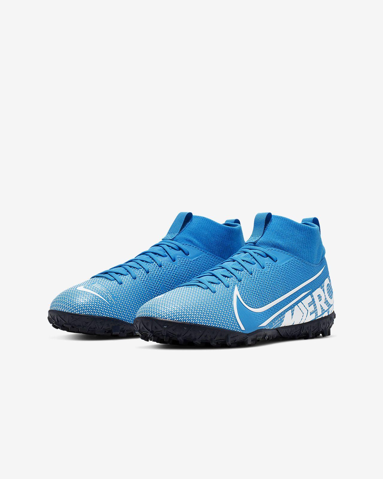 Nike Jr. Mercurial Superfly 7 Academy TF Fußballschuh für Kunstrasen für jüngereältere Kinder