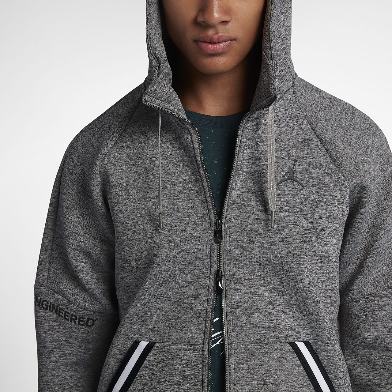 48ad0b204439 Jordan Sportswear Flight Tech Men s Full-Zip Hoodie. Nike.com