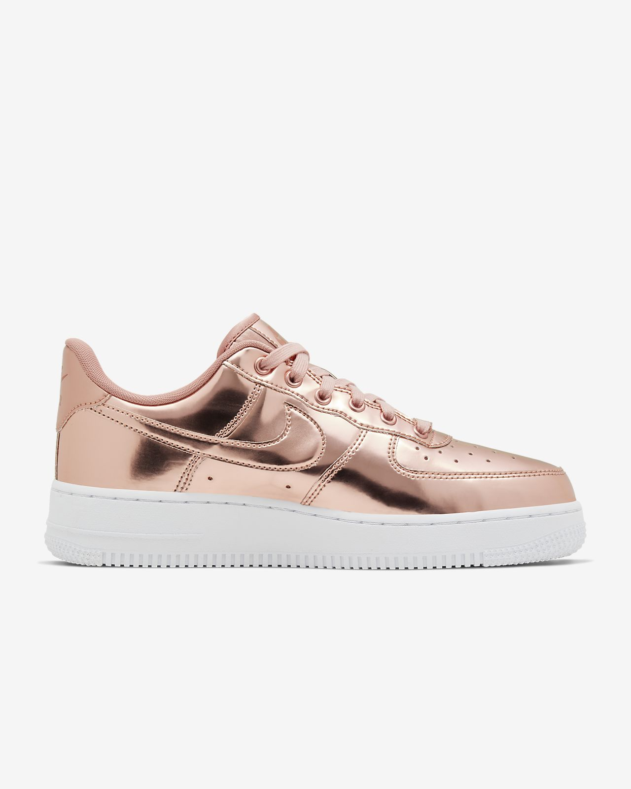 Nike Air Force 1 Metallic Silver Rose Yellow Gold | HYPEBAE