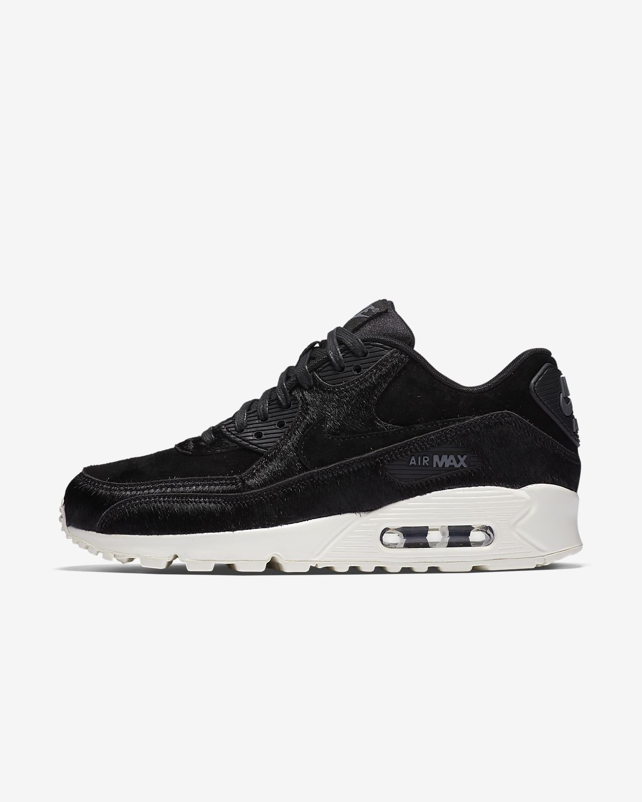 ladies black air max 90