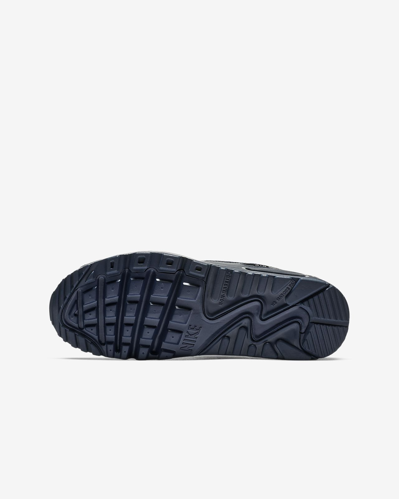 reputable site 4ff2f 3dca9 ... Nike Air Max 90 Leather Older Kids  Shoe