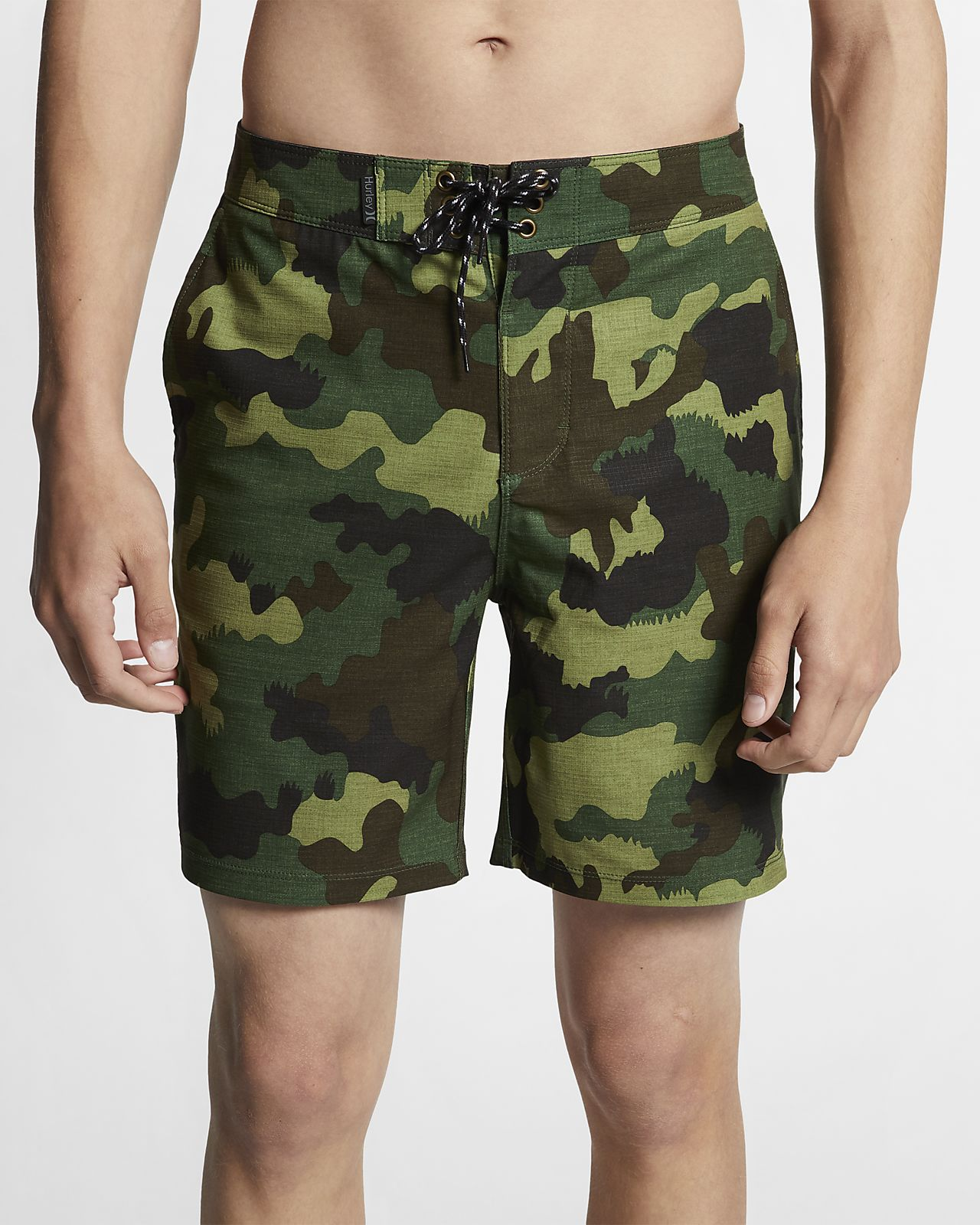 Shorts de playa de 46 cm para hombre Hurley Phantom Gallows Beachside