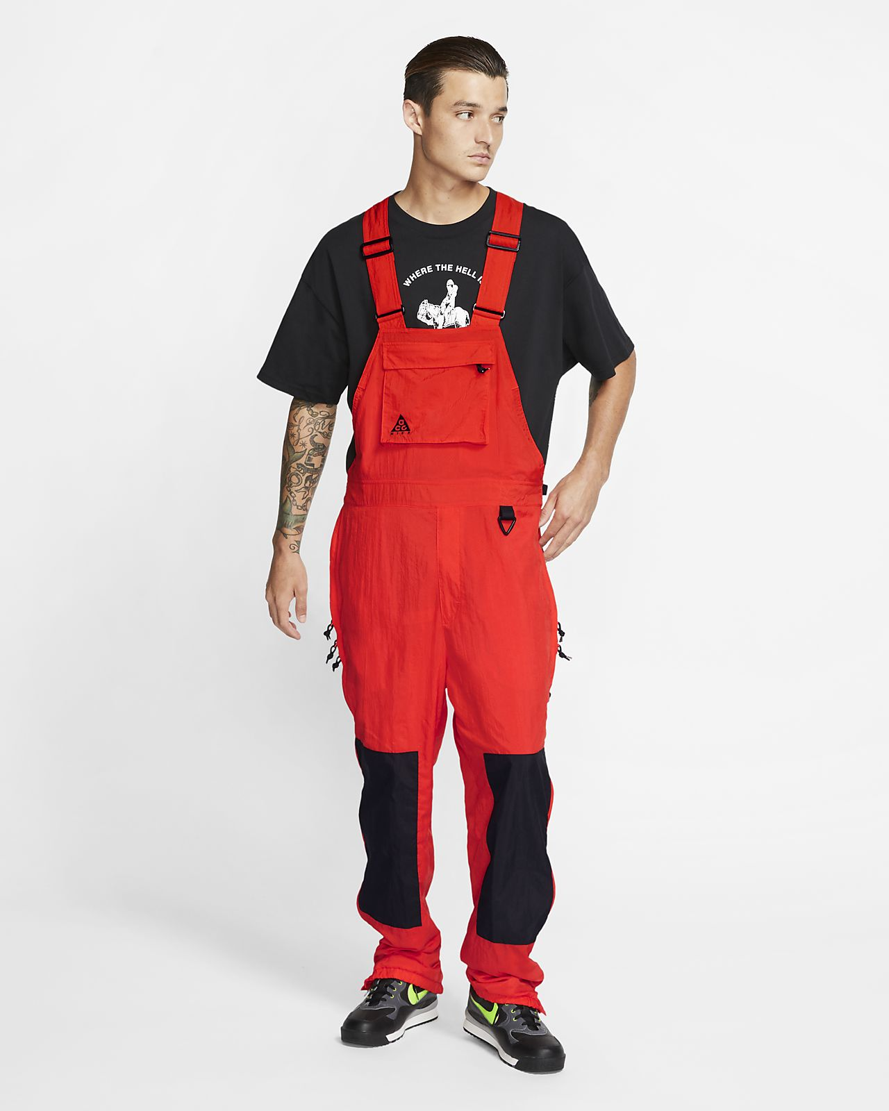 Overoles tejidos para hombre Nike ACG