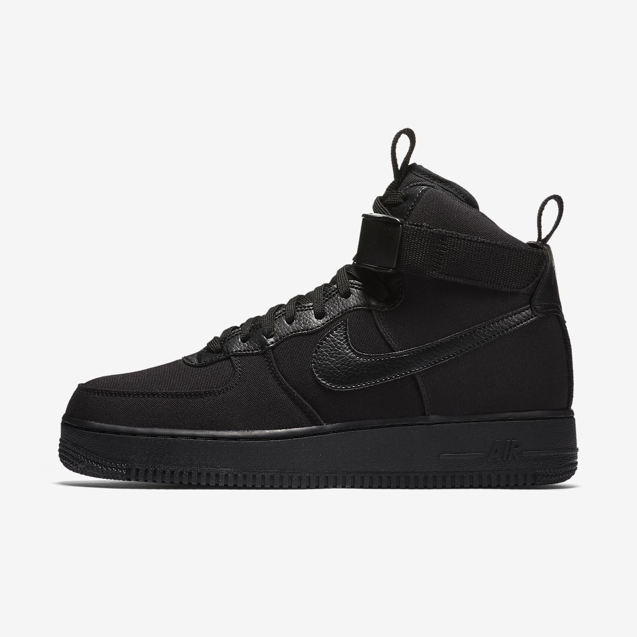 nike sportswear air force 1 07 suede black\/black converse