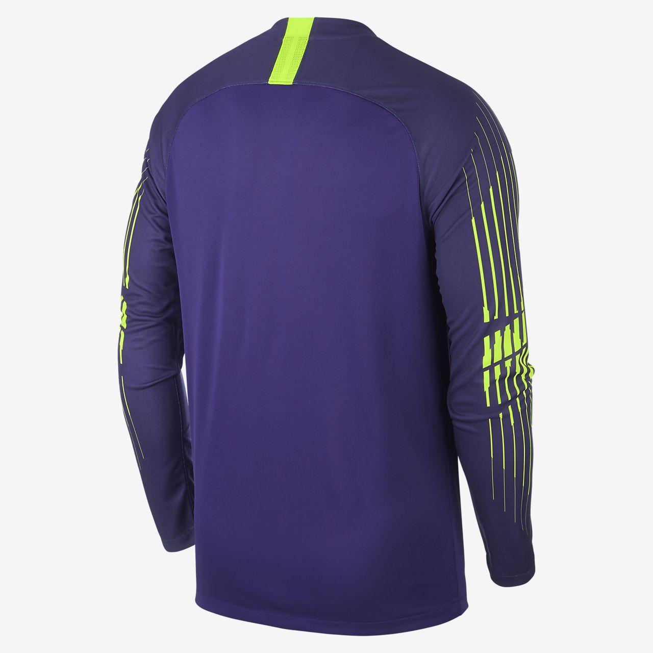 51a717895 ... Camisola de futebol de manga comprida 2018 19 Tottenham Hotspur Stadium  Goalkeeper para homem