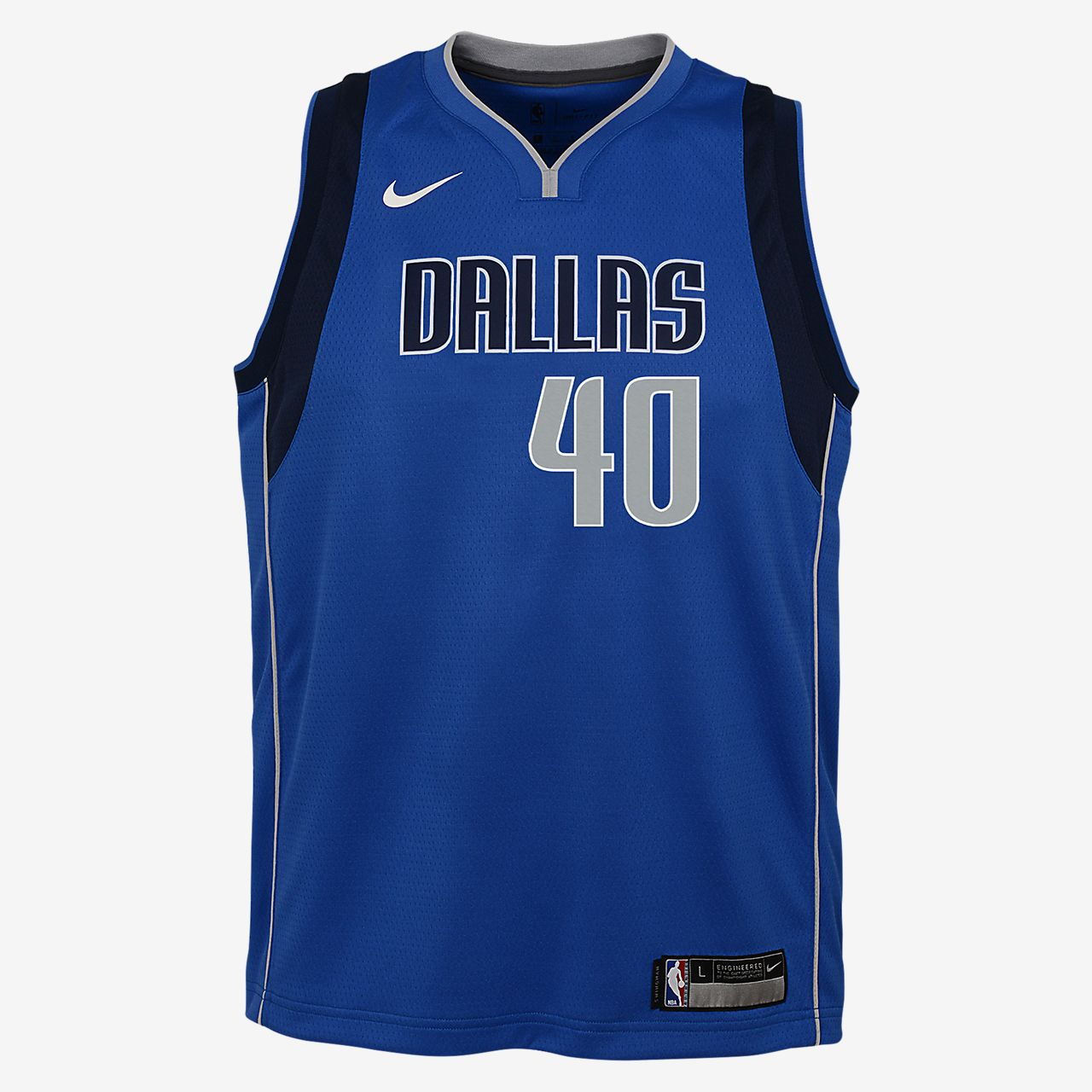 Harrison Barnes Dallas Mavericks Nike Icon Edition Swingman Big Kids' NBA Jersey