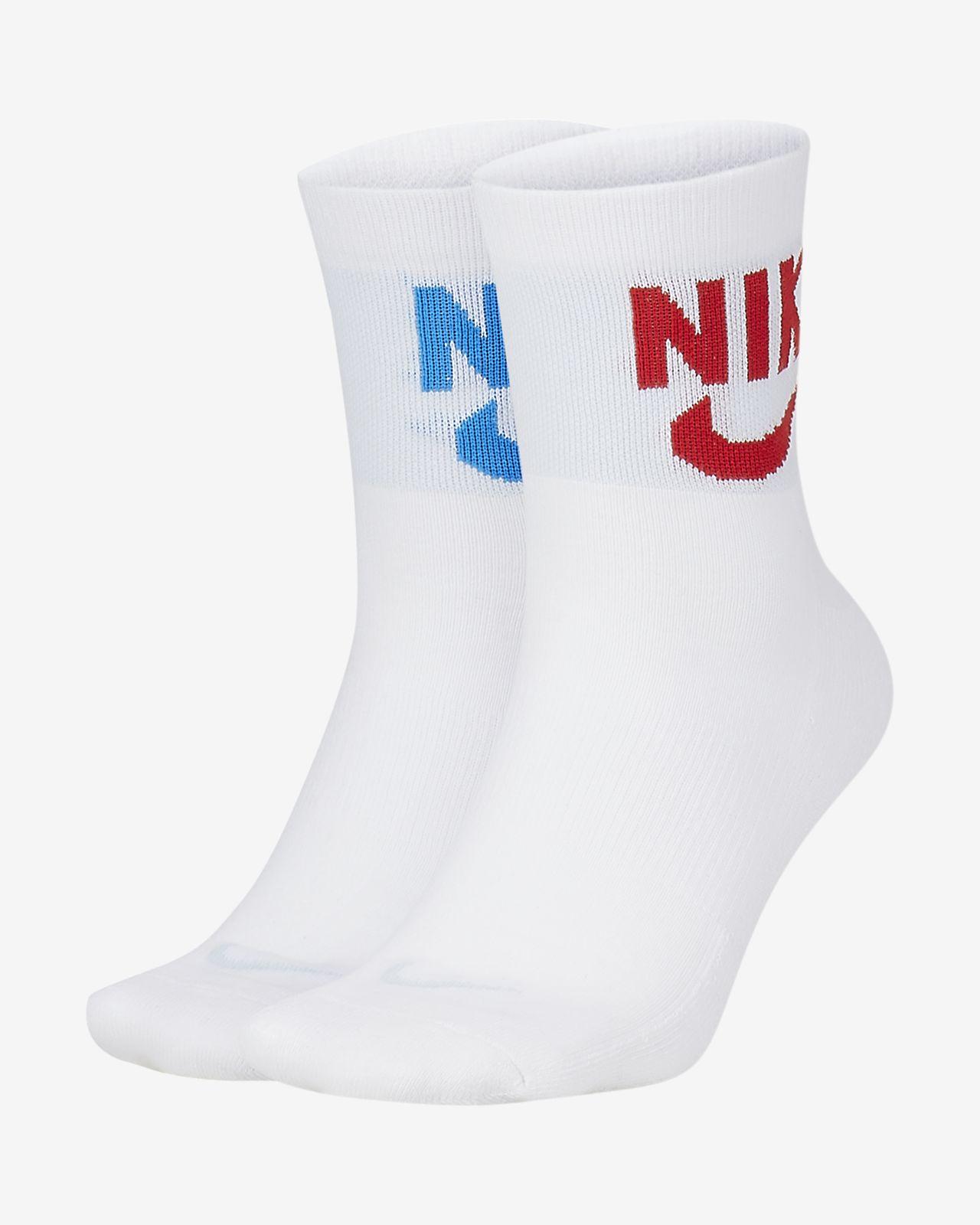 Nike Heritage Calcetines hasta el tobillo (2 pares)
