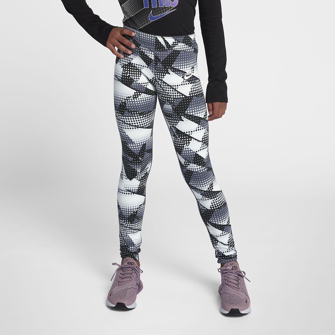 1782b359510ad Nike Sportswear Older Kids' (Girls') Printed Leggings. Nike.com LU