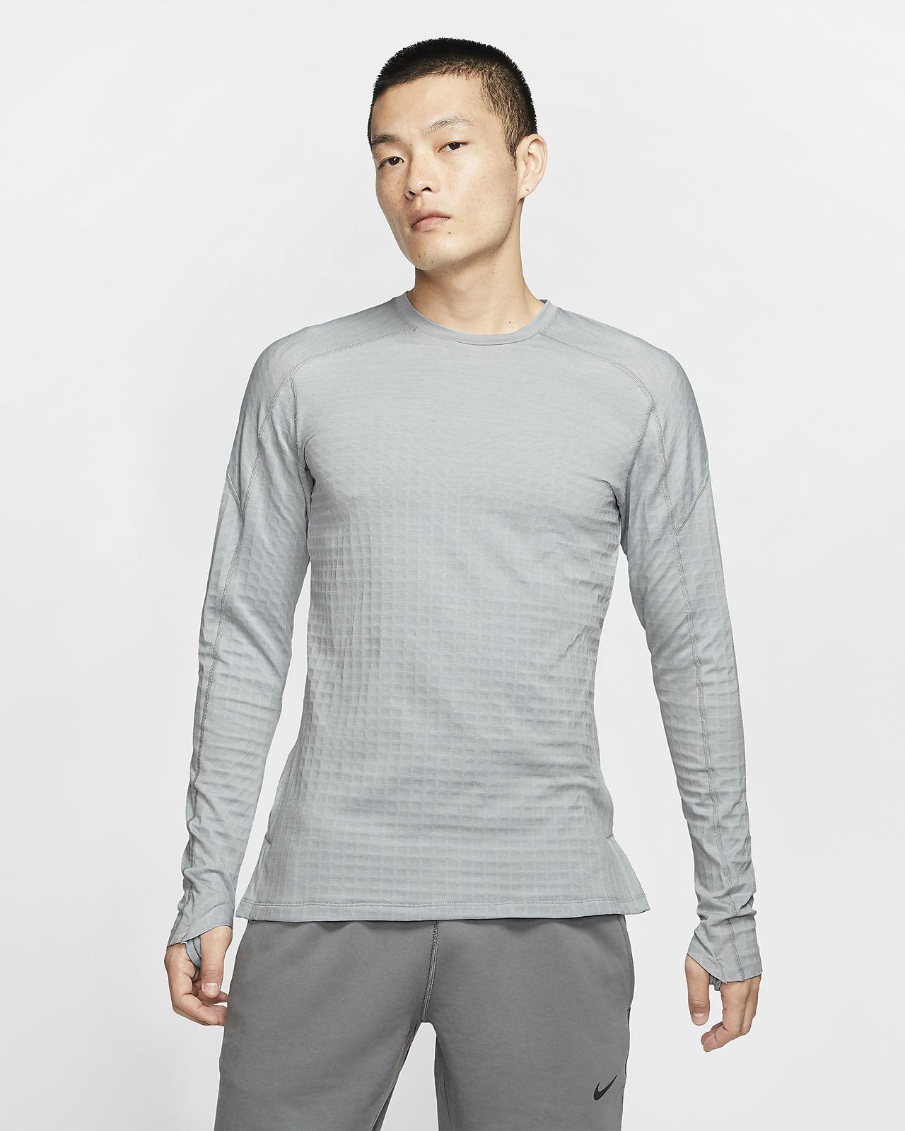 Nike Pro Tech Pack-overdel med langer ærmer til mænd