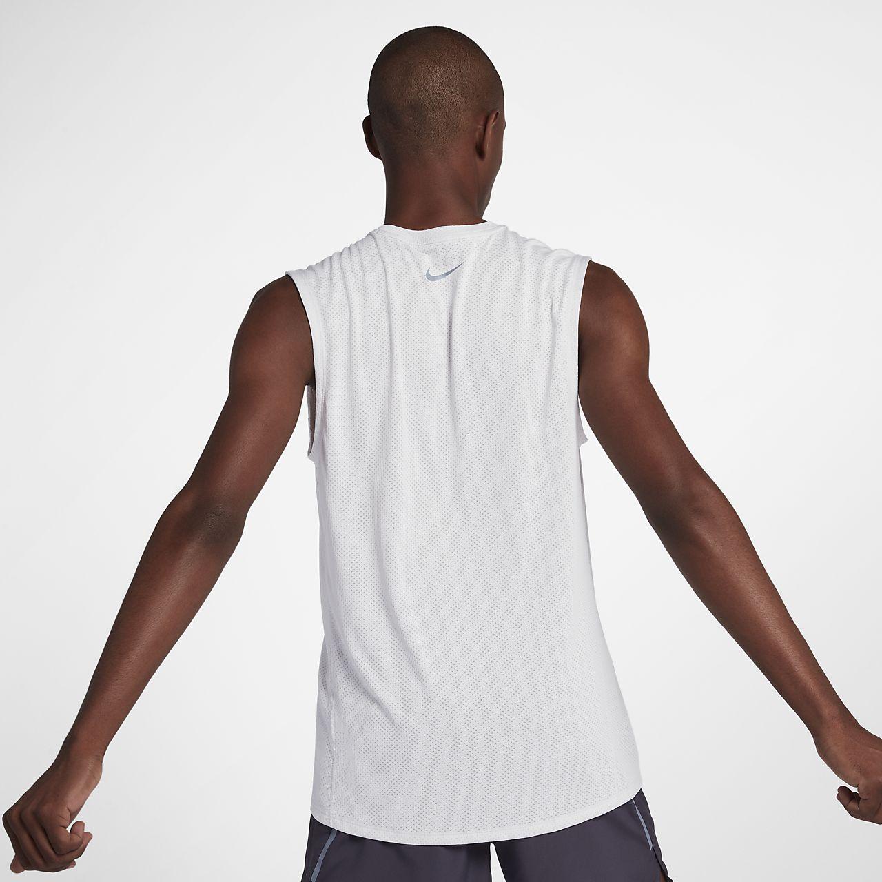 ec0c1e46226cb Nike Mens Miler Sleeveless Running Shirt – EDGE Engineering and ...