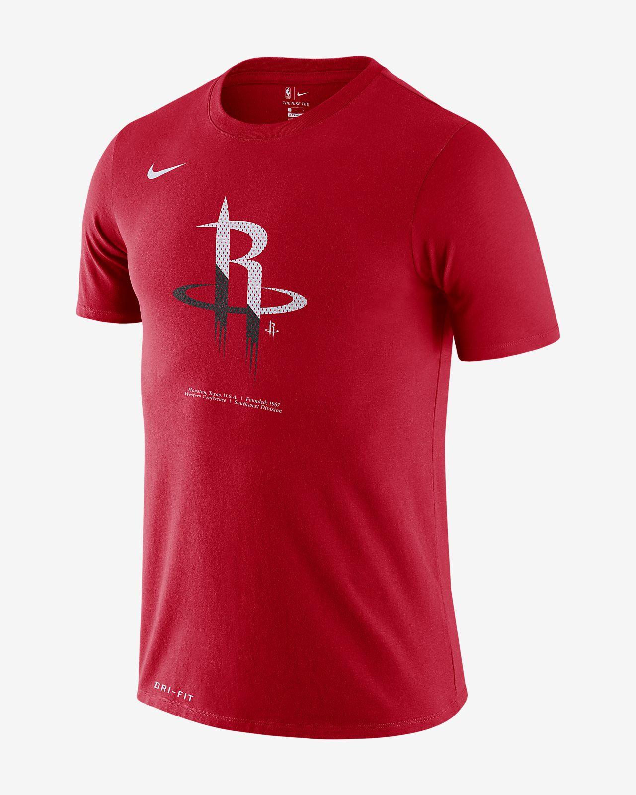 เสื้อยืด NBA ผู้ชาย Houston Rockets Nike Dri-FIT
