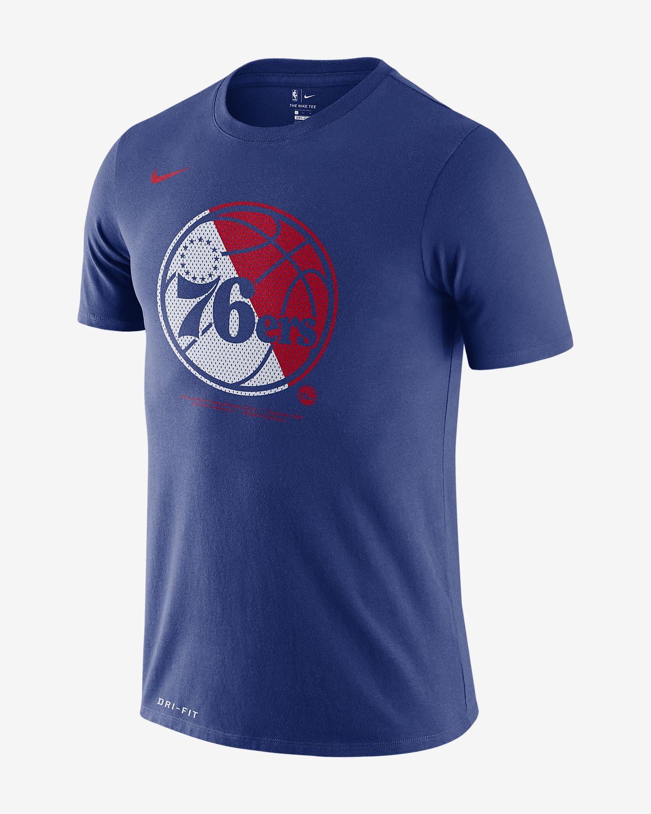 Tee-shirt NBA Philadelphia 76ers Nike Dri-FIT pour Homme