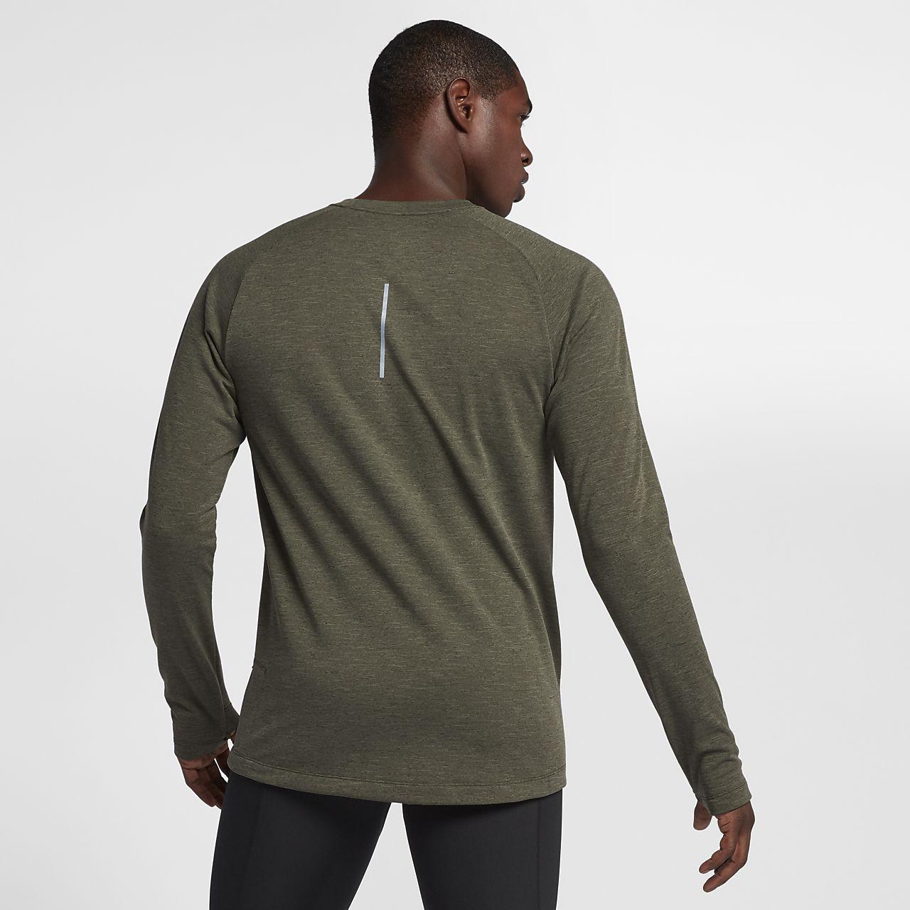 ... Nike Therma-Sphere Element Men's Long-Sleeve Running Top