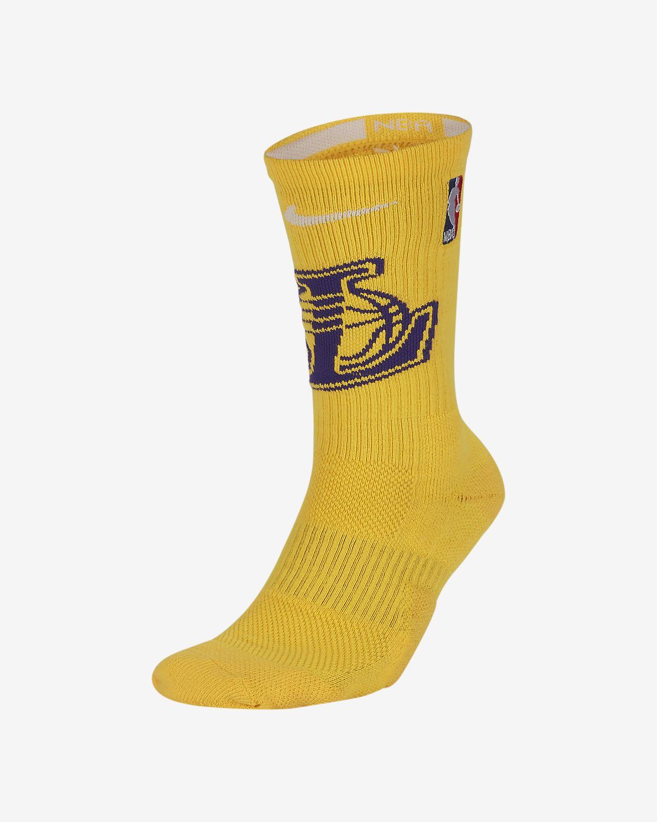 1ef77f6b562 Los Angeles Lakers Nike Elite NBA Crew Socks. Nike.com IN