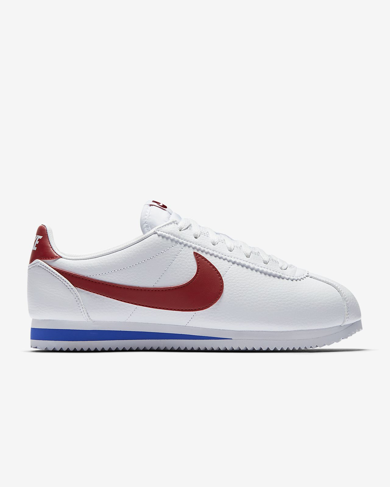 nike cortez all white