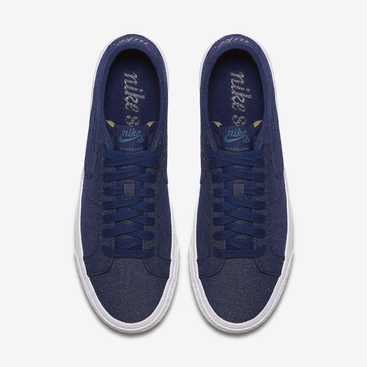 premium selection 53605 ce127 ... Chaussure de skateboard Nike SB Zoom Blazer Low Canvas Deconstructed  pour Homme