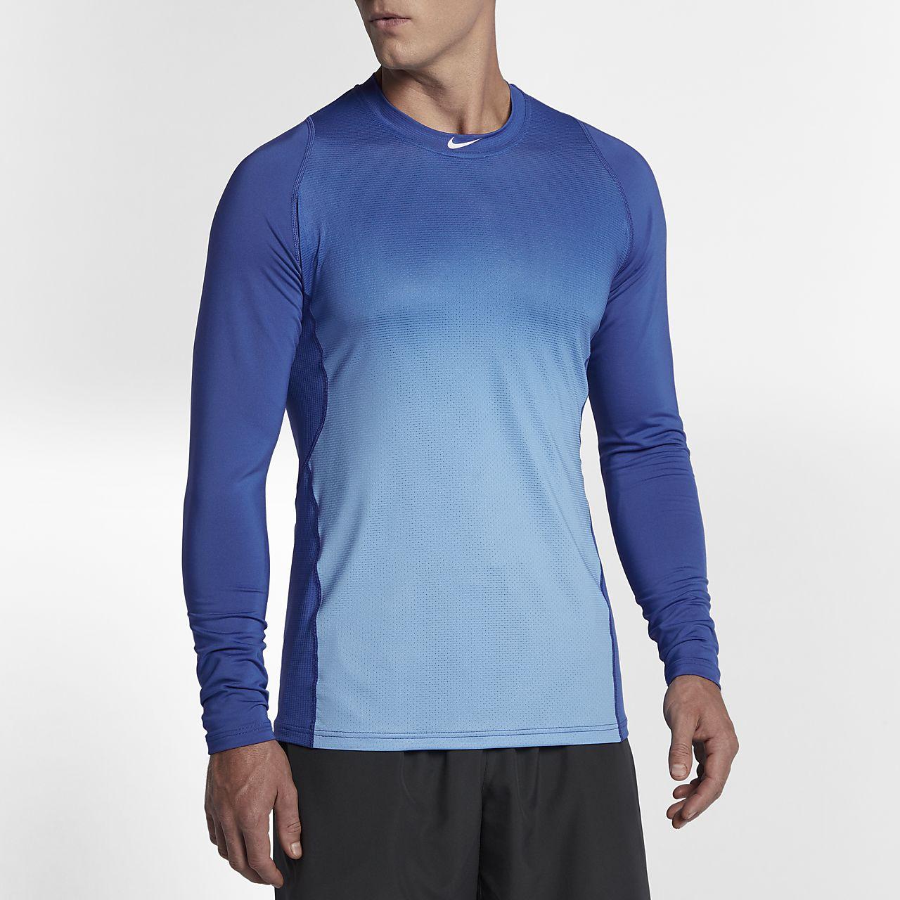 ... Nike Pro HyperCool Men's Long Sleeve Baseball Top