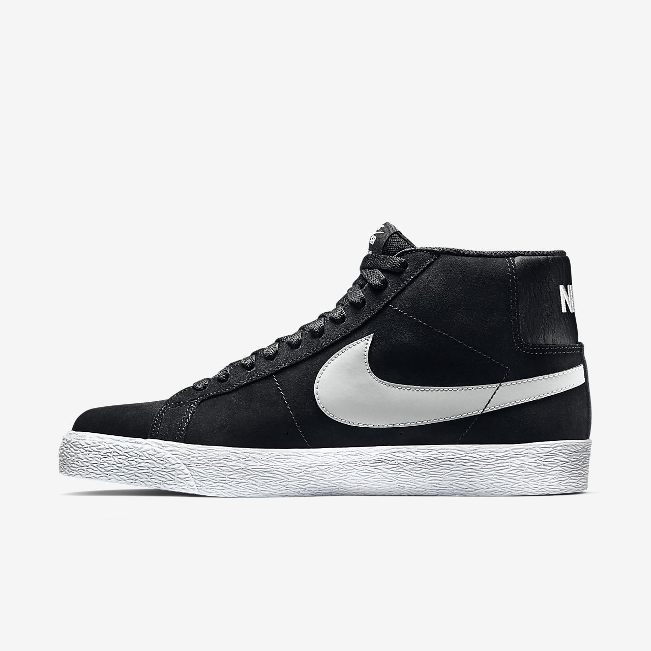 Nike SB Blazer Mid Men's Skateboarding Shoes Black/White bM2906C