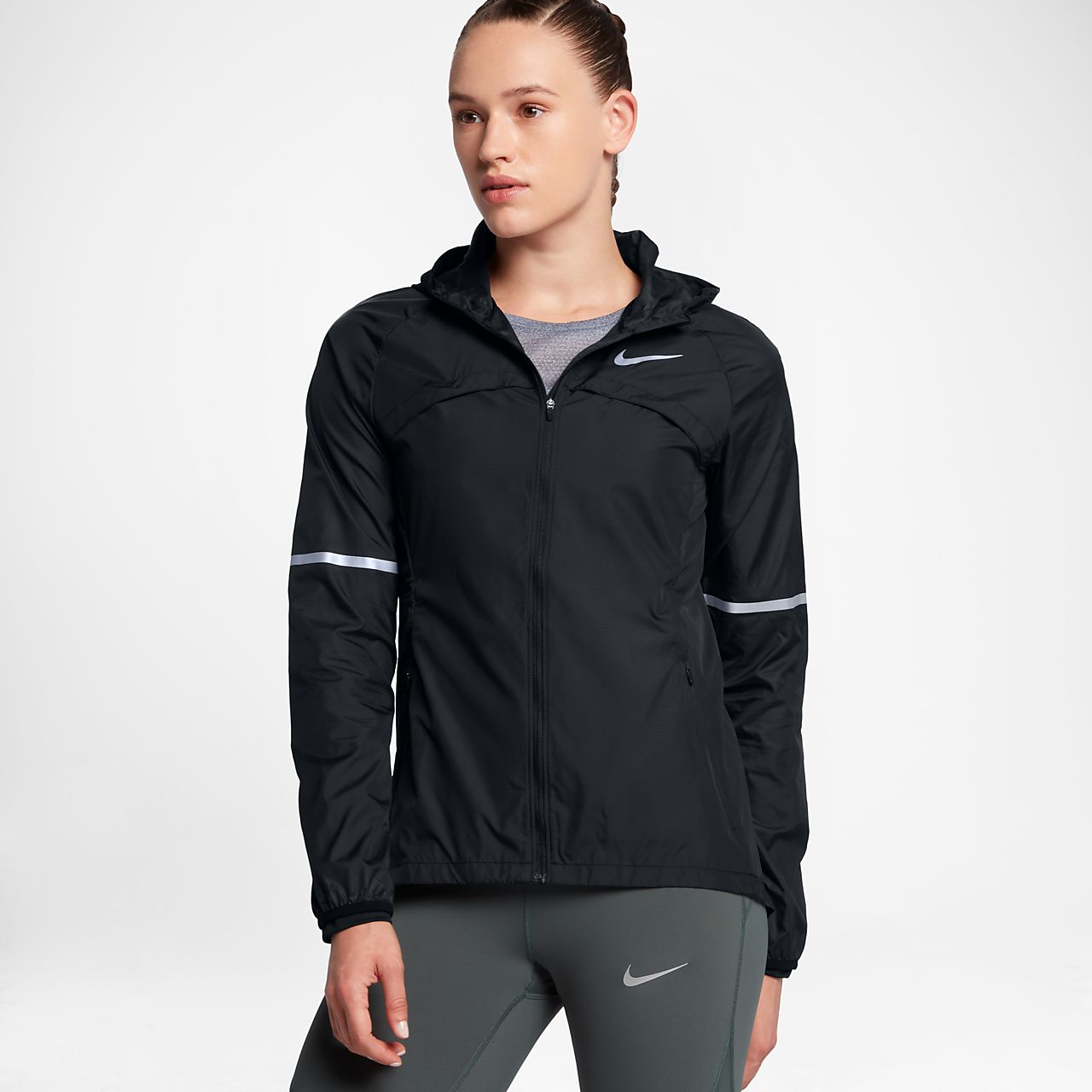Low Resolution Nike Shield Women's Running Jacket Nike Shield Women's  Running Jacket
