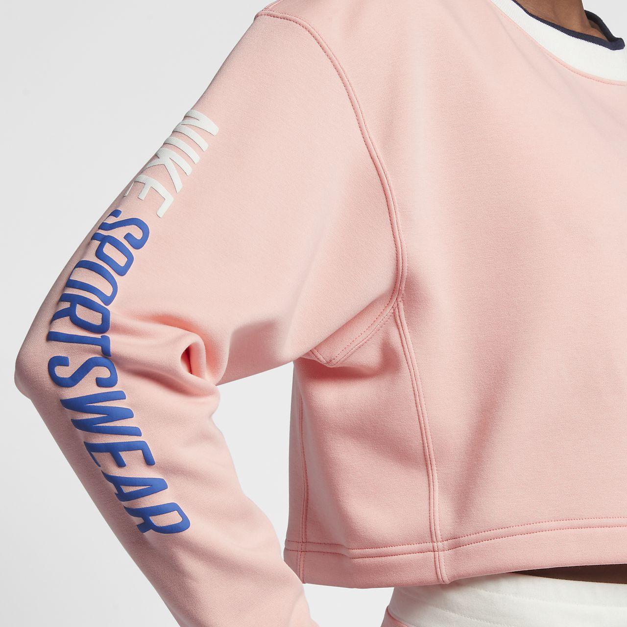 Nike Women Activewear Jacket Peach Long