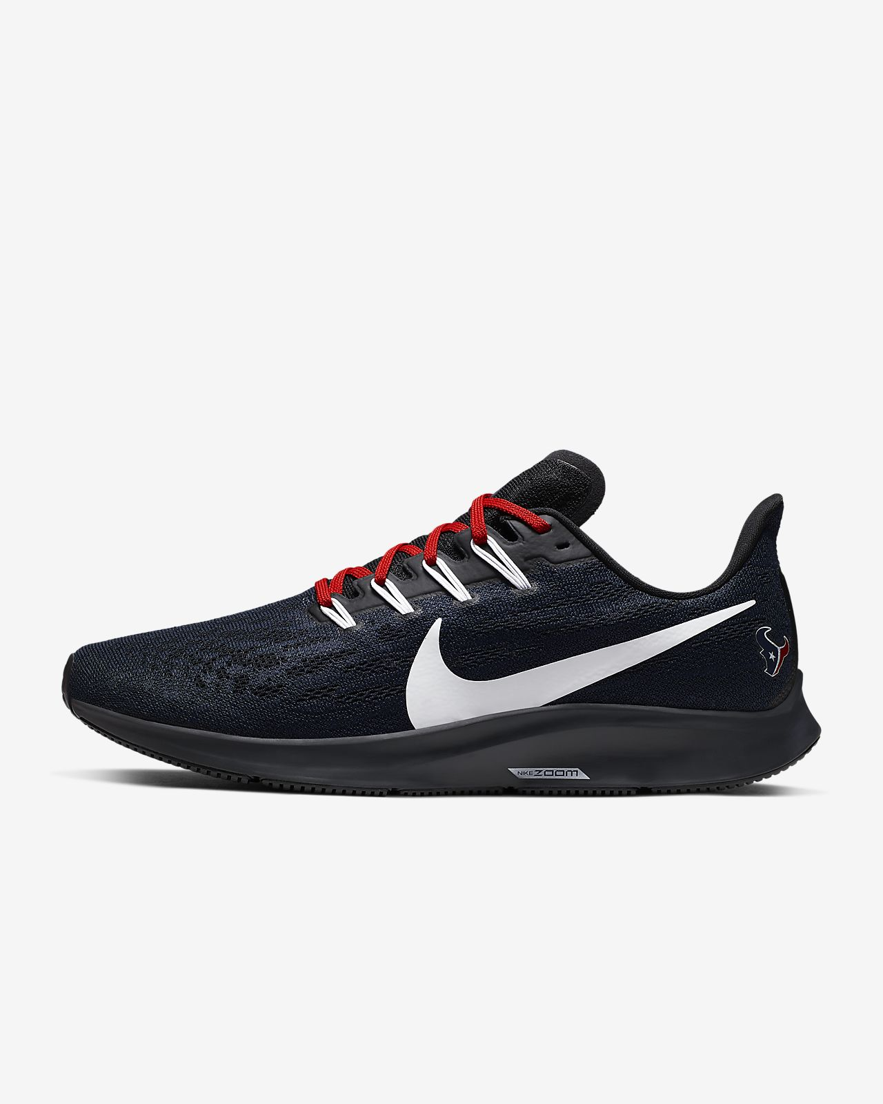 Nike Air Zoom Pegasus 36 (Texans) Men's Running Shoe