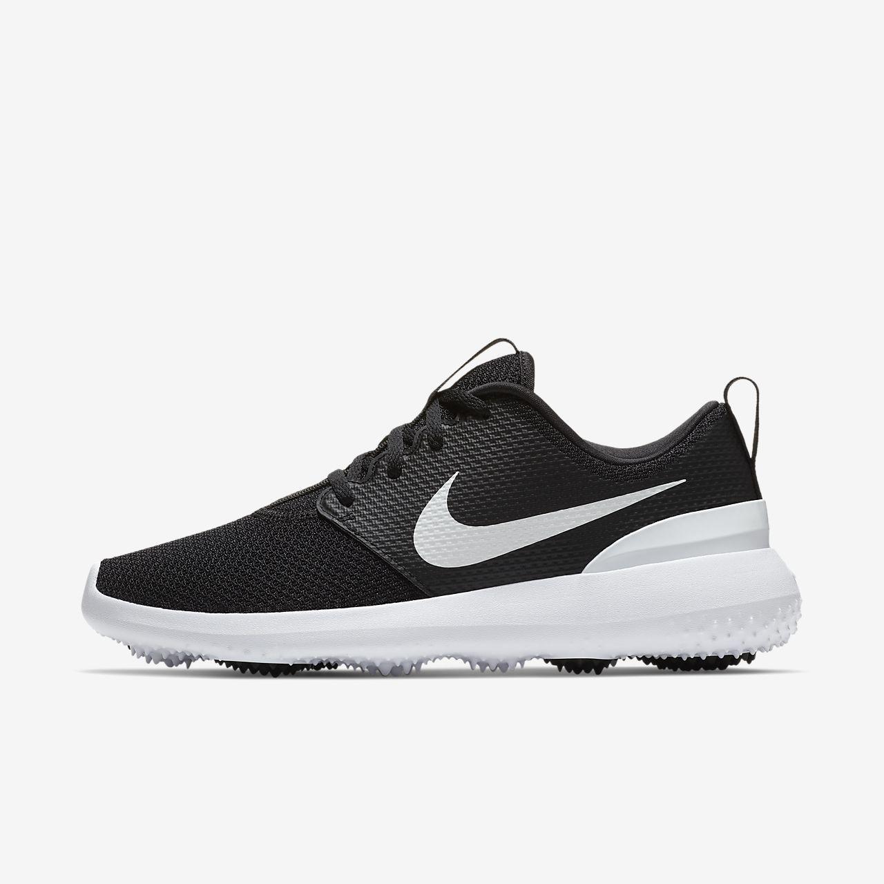 butik wyprzedażowy największa zniżka szczegółowe obrazy Damskie buty do golfa Nike Roshe G