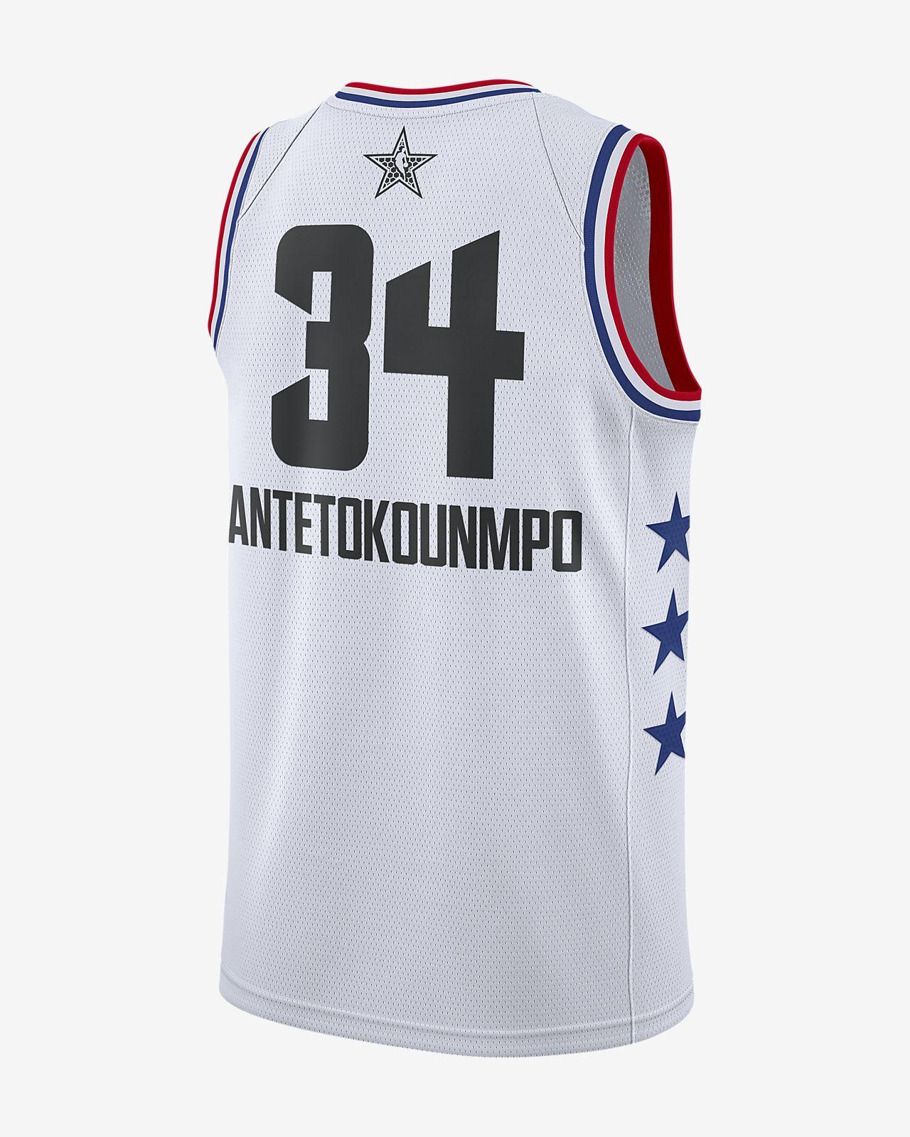... Giannis Antetokounmpo All-Star Edition Swingman Men s Jordan NBA  Connected Jersey d743fa3e9