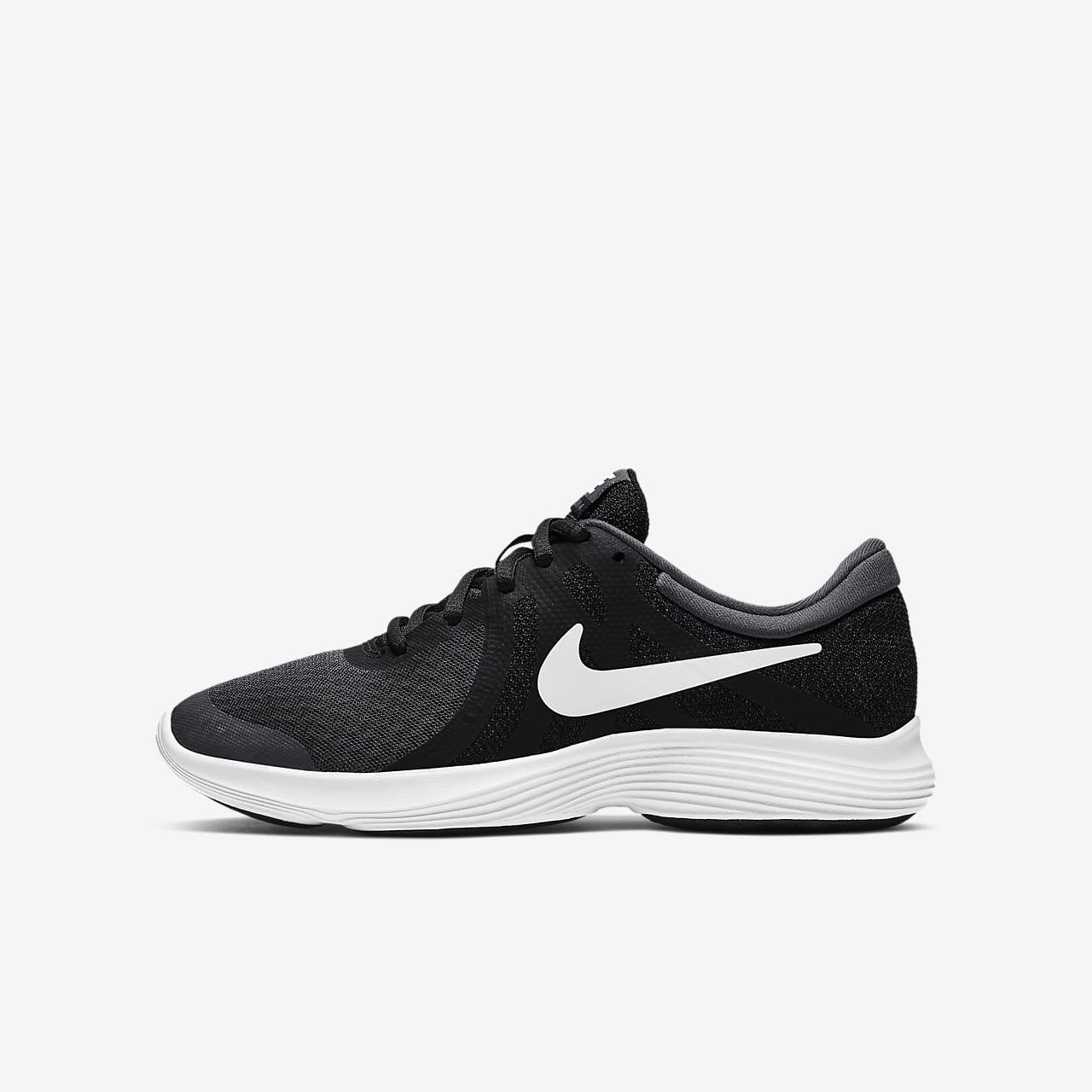 Nike Revolution 4 Big Laufschuh für ältere Kinder - Schwarz mwOZbXIRi