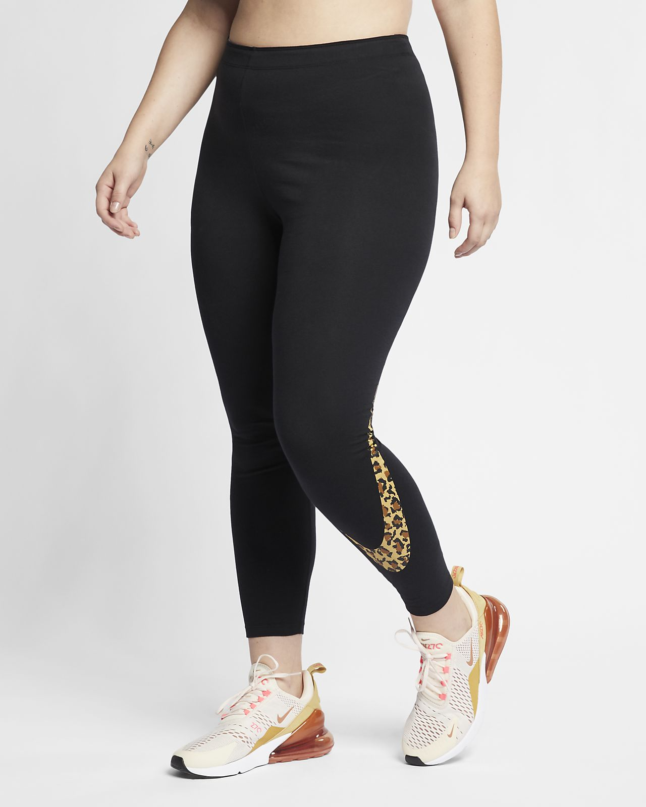 f66f69bc0120 ... Γυναικείο κολάν με animal print Nike Sportswear (μεγάλα μεγέθη)