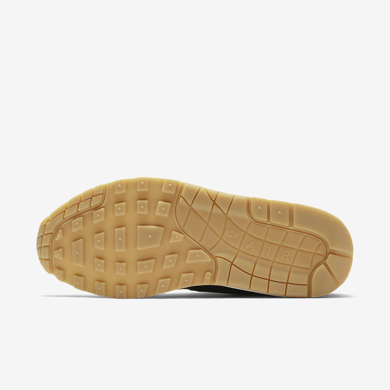 scarpa nike air max 1 nerogum light brownnero 319986 037