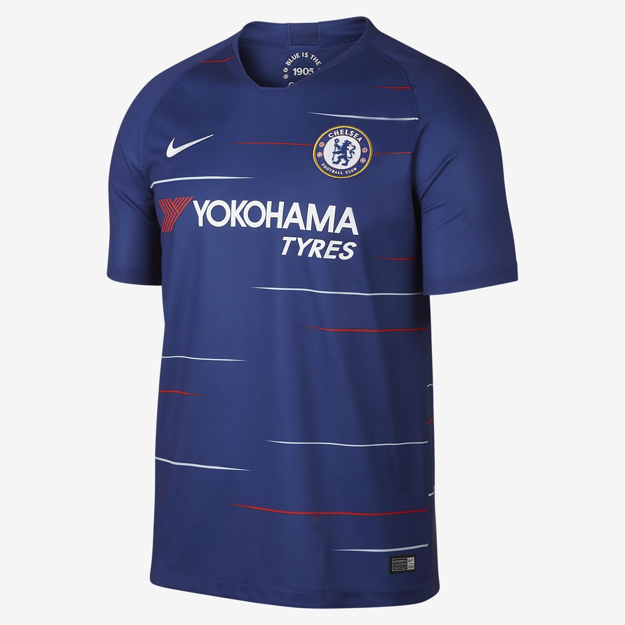 2018 19 Chelsea FC Stadium Home Men s Soccer Jersey. Nike.com d1a08f7ae