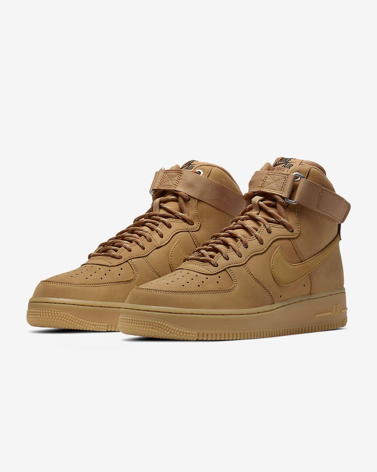 nike air force 1 marron 39 wheat