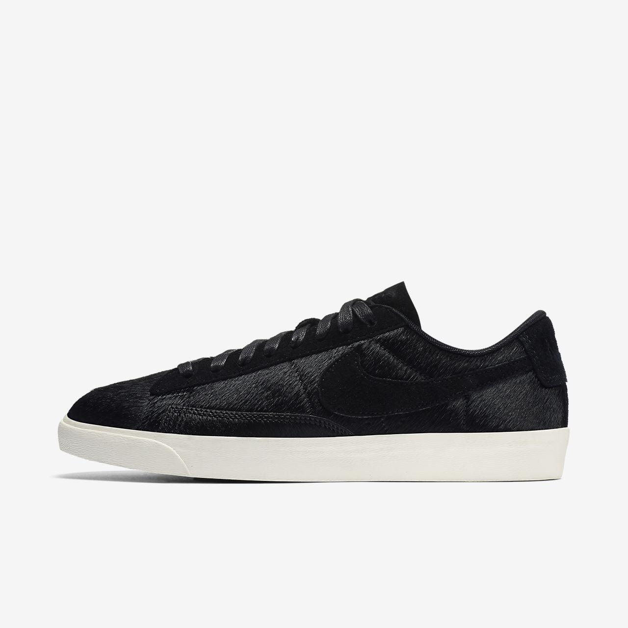 Nike Blazer Leather Shoes All Black /Nike Jordan [ N830]