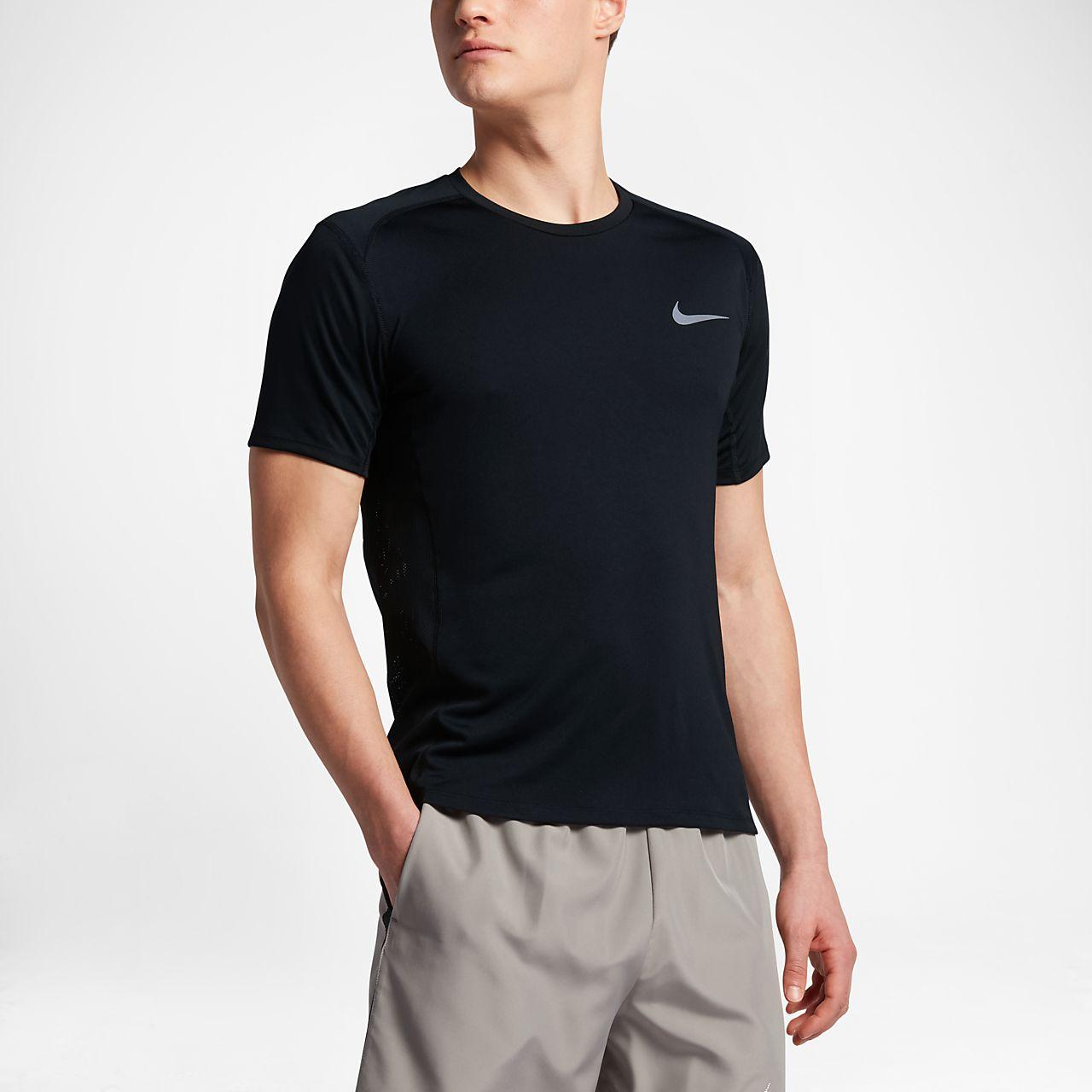 994ae2f69a Nike Miler Men s Short Sleeve Running Top. Nike.com