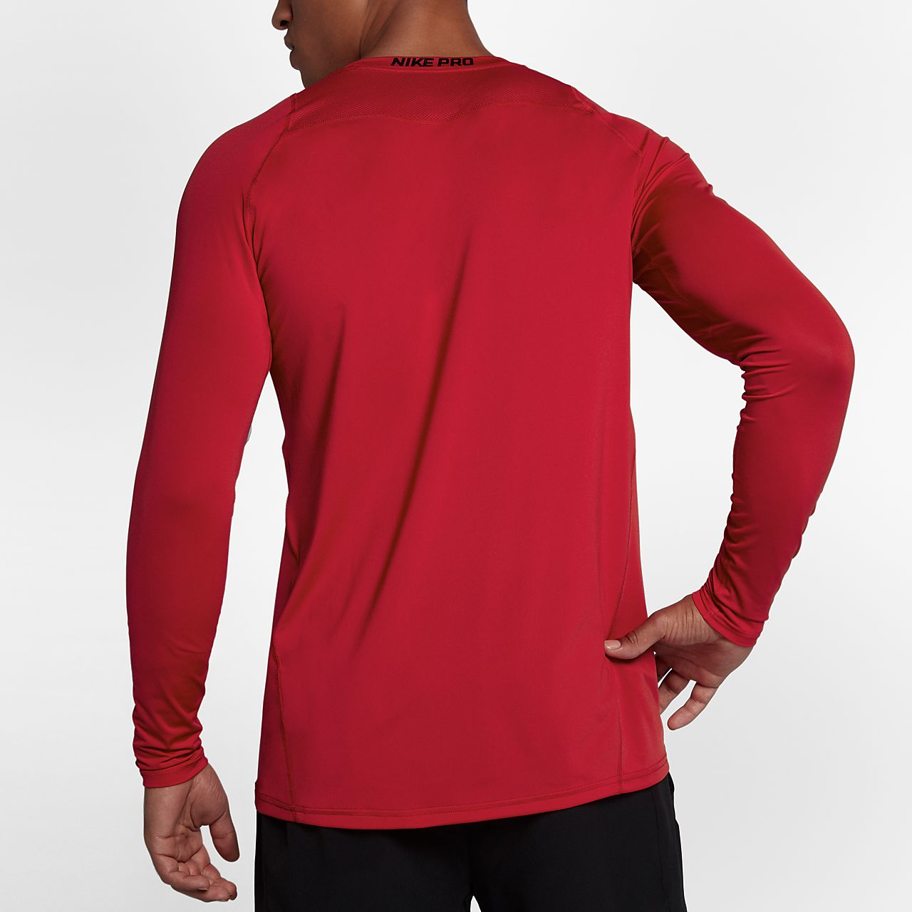 f4c9e15bb34 Nike Pro Top Men's Fitted Long-Sleeve Top