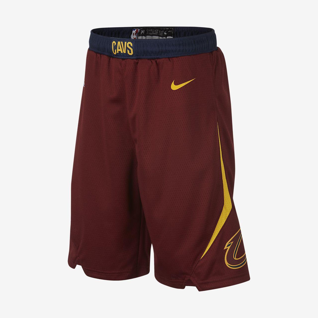 Cleveland Cavaliers Nike Icon Edition Swingman NBA-s rövidnadrág nagyobb gyerekeknek (fiúk)