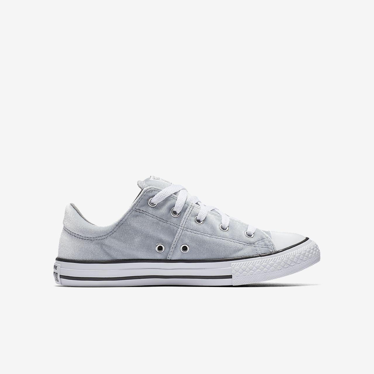 ... Converse Chuck Taylor All Star Madison Velvet Low Top Big Kids Shoe