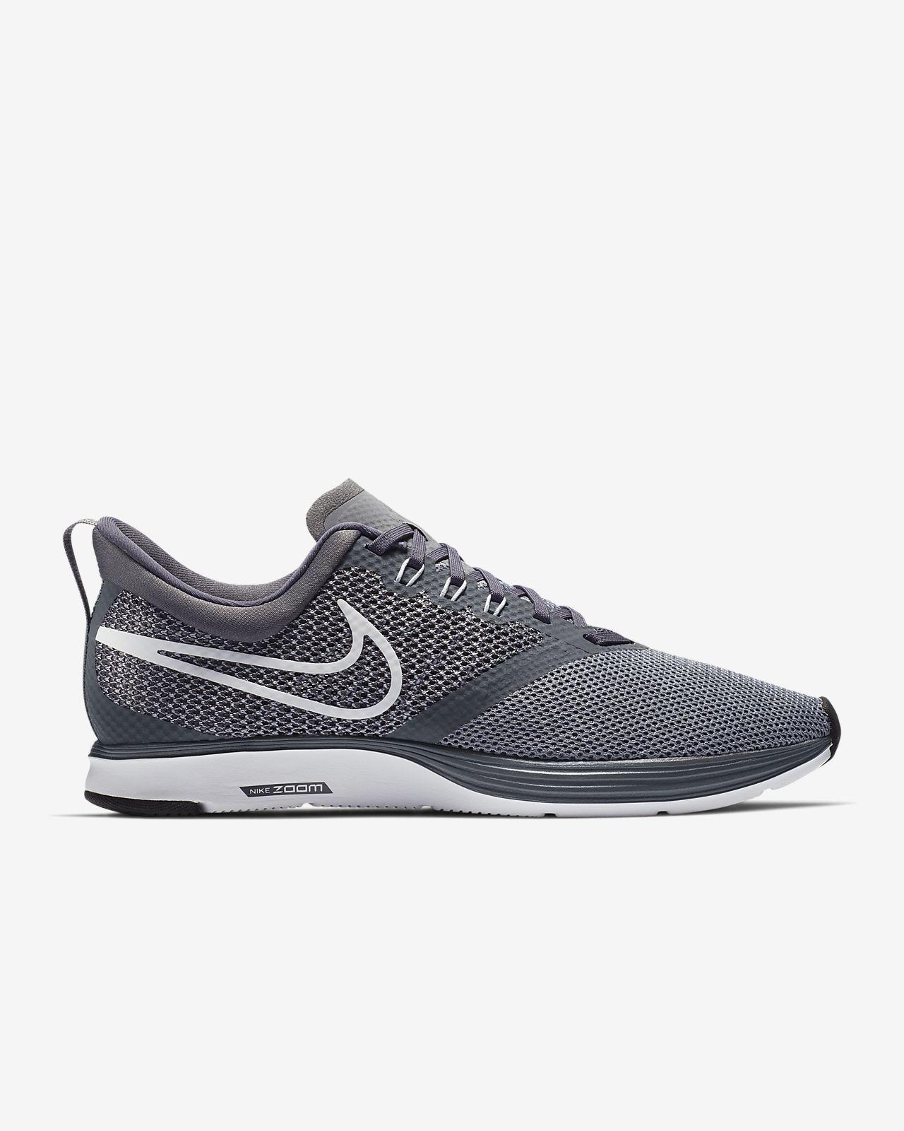 Nike Zoom strike running Noir - Chaussures Chaussures-de-running Homme