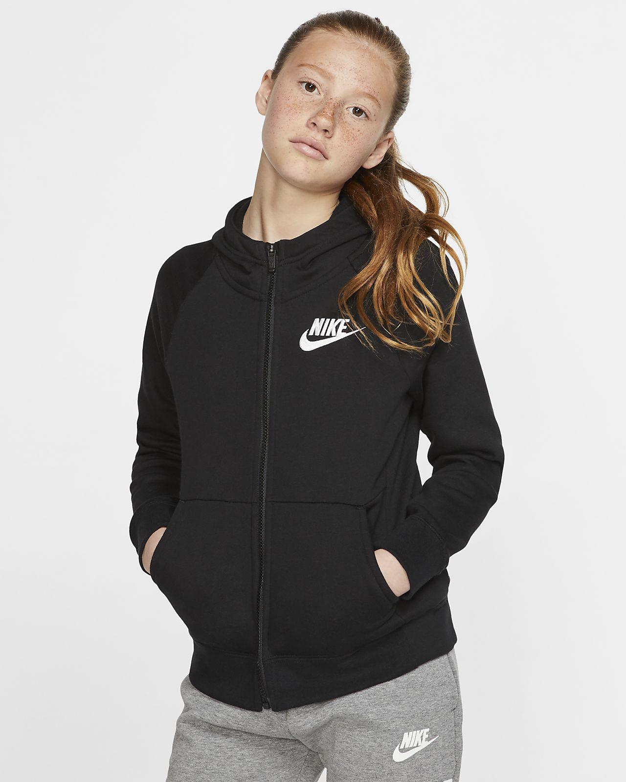 Nike Sportswear Girls\u0027 Full,Zip Hoodie