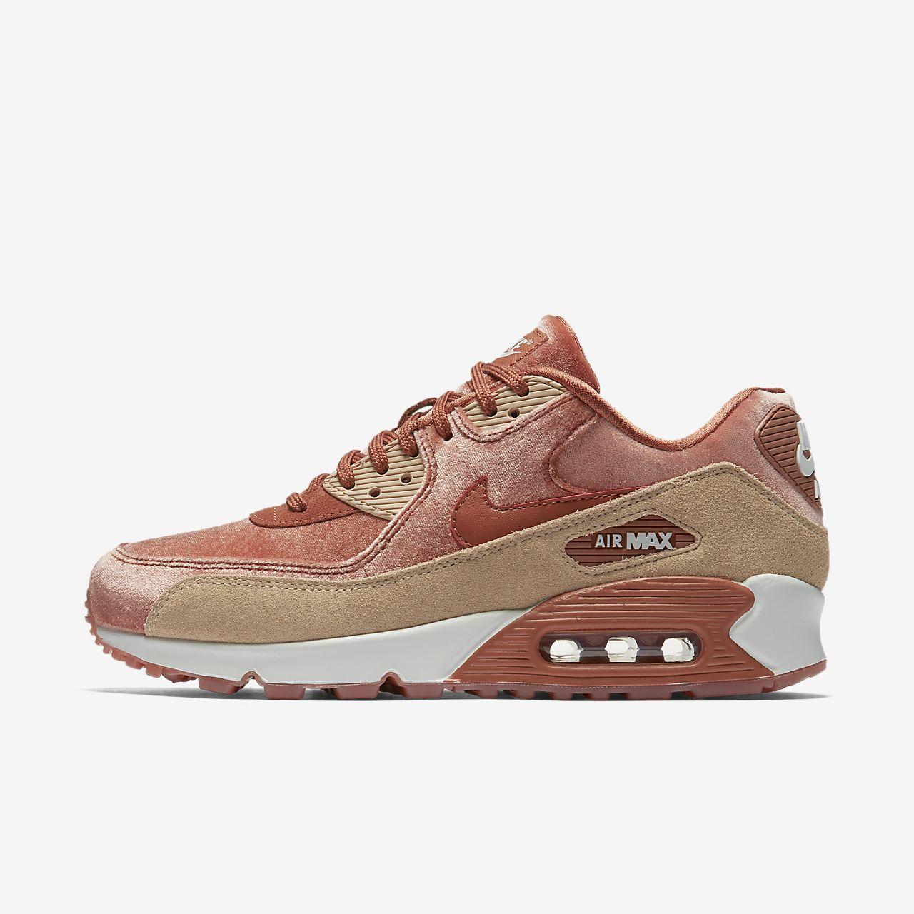 Beige Nike Air Max 90 Chaussures À 40,5 Pour Les Femmes