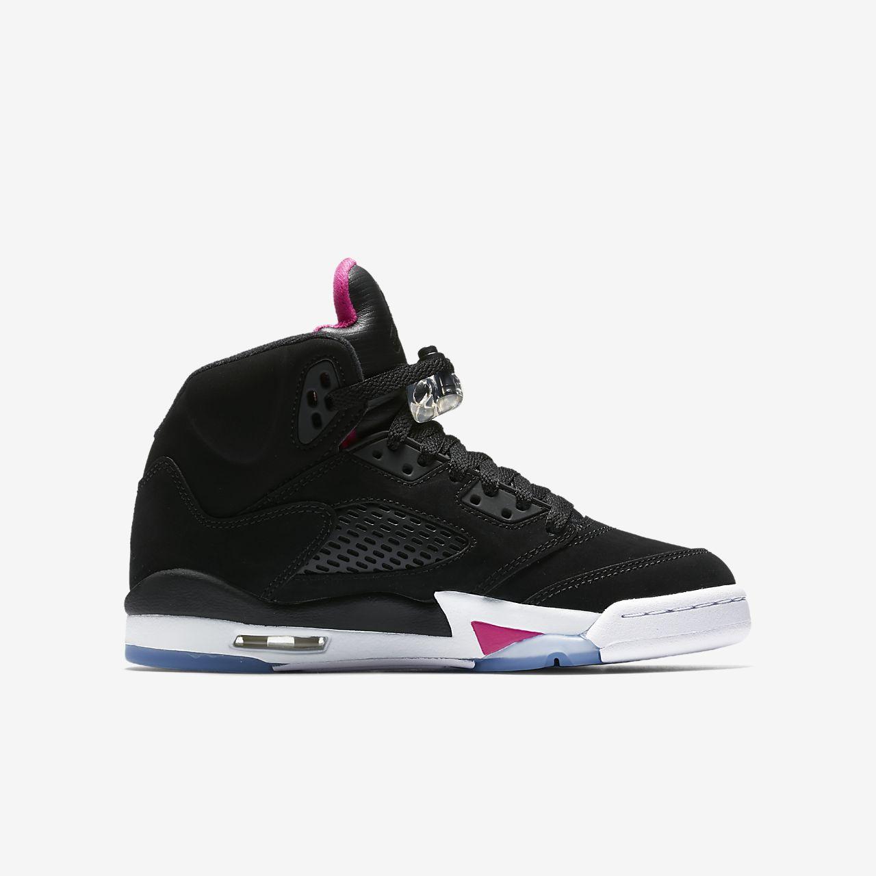 hot sale online 6817e 56b56 Air Jordan 5 Retro Older Kids' Shoe