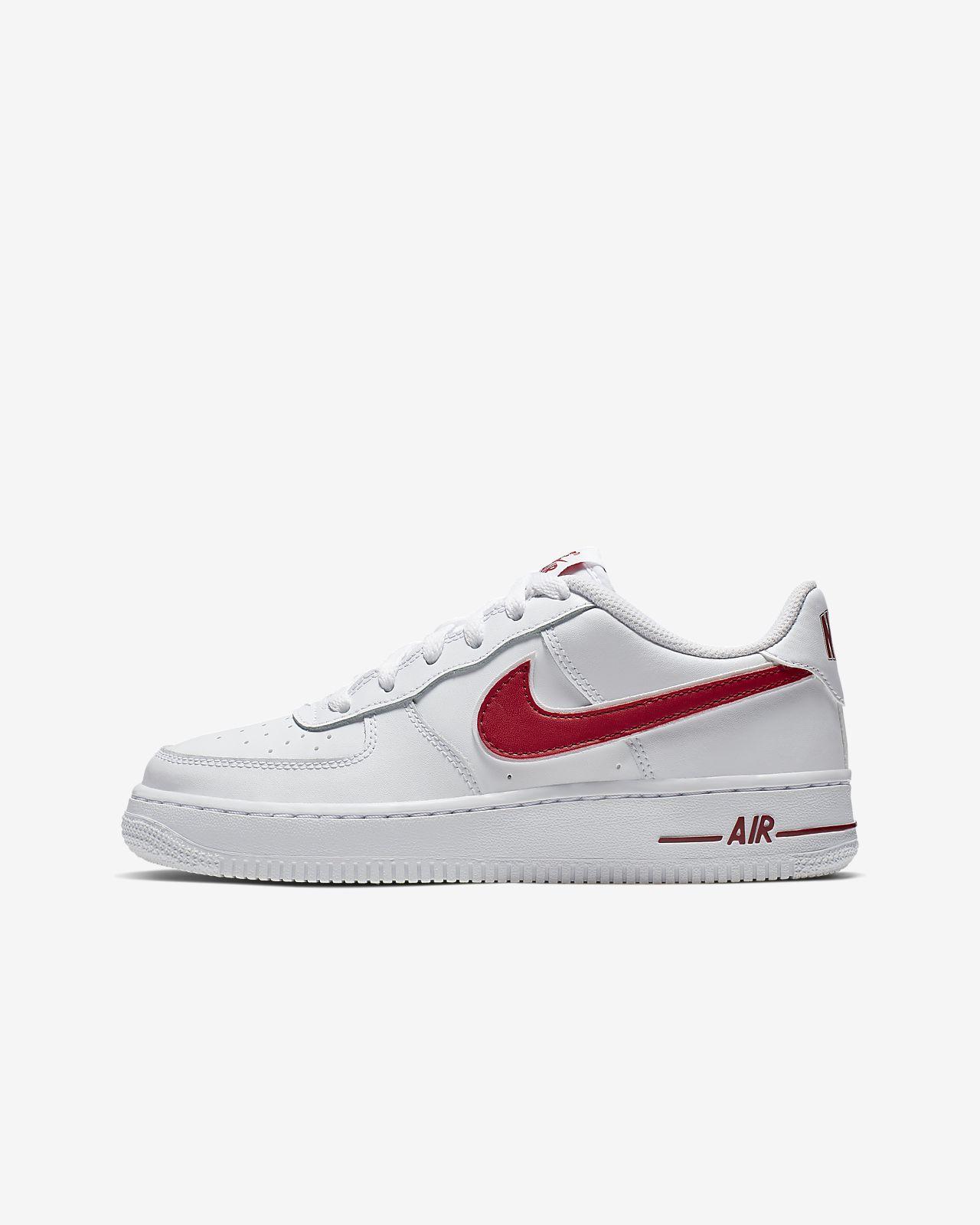 Nike Air Force 1–3 Older Kids  Shoe. Nike.com GB d939aa4f5f8