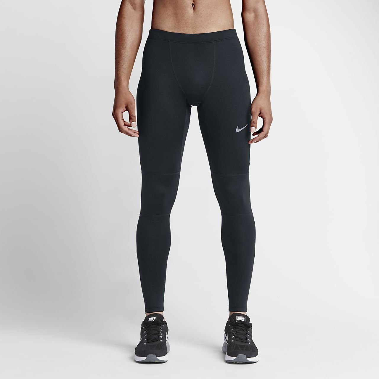 Nike Essential SchwarzSchwarzSchwarz  Running Capris