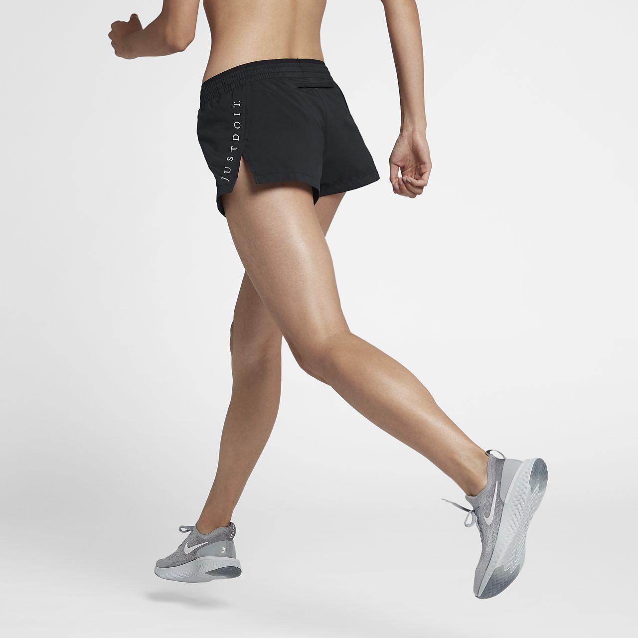 กางเกงวิ่งขาสั้นผู้หญิง Nike Elevate