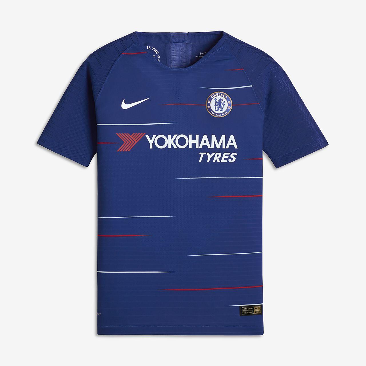 Футбольное джерси для школьников 2018/19 Chelsea FC Vapor Match Home
