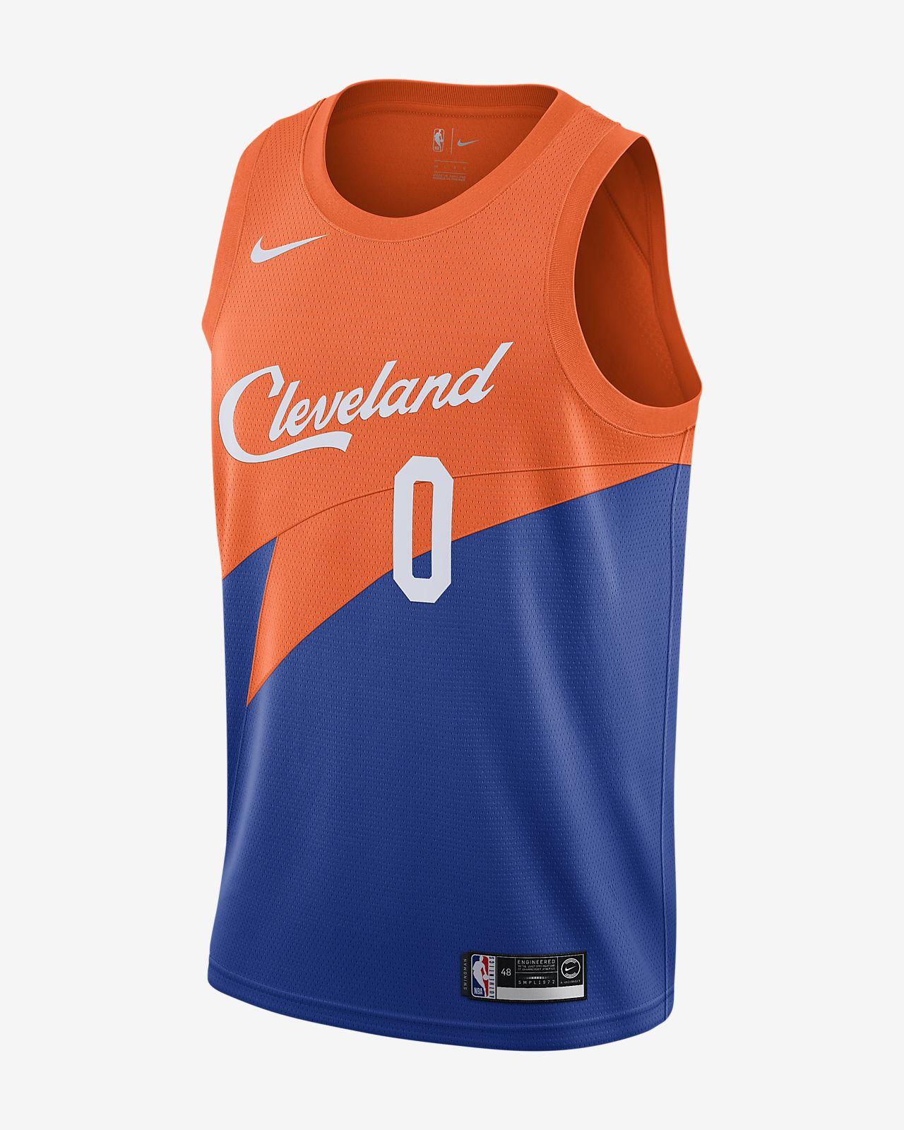 Maillot connecté Nike NBA Kevin Love City Edition Swingman (Cleveland Cavaliers) pour Homme