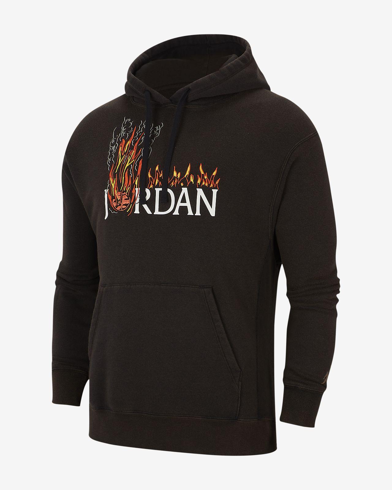 0c0ce598895b44 Jordan x Travis Scott Men s Fleece Hoodie. Nike.com IE