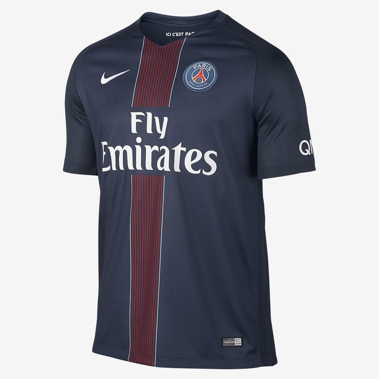2016/17 Paris Saint-Germain Stadium Home Herren-Fußballshirt