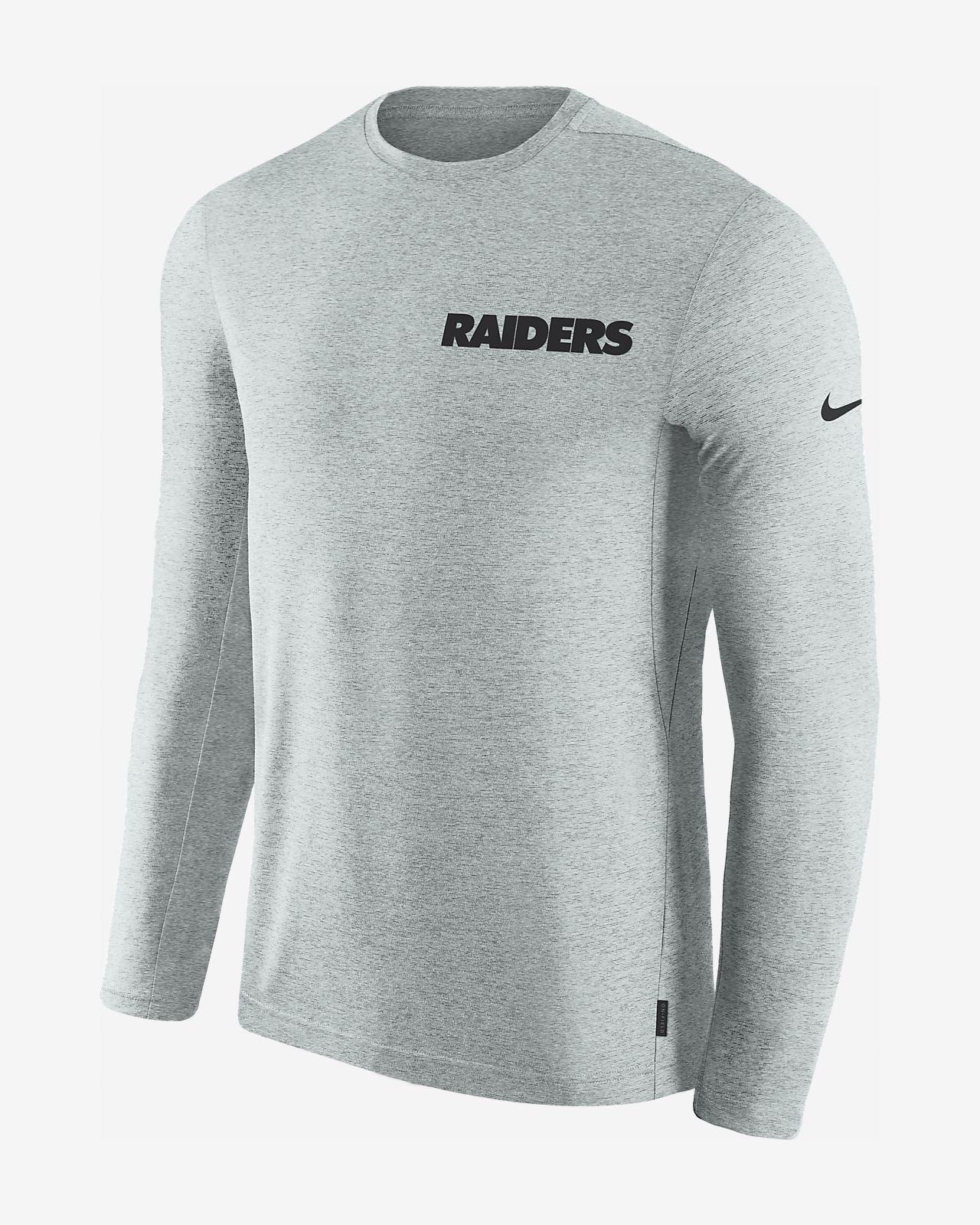 8e5bd351e6c9 Nike Dri-FIT Coach (NFL Raiders) Men s Long-Sleeve Top. Nike.com
